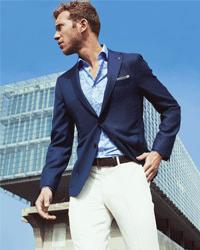 Man-met-overhemd-print