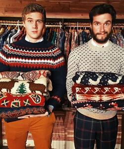 Kersttrui Kerstdiner