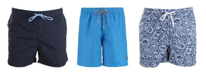 Zwembroeken blauw