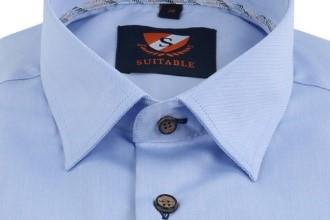 button under overhemd boord